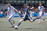 Olympique Marseille (in navy blue) vs HKFC Captain's Select (in white) during their Main Tournament Cup Quarter-Final match, part of the HKFC Citi Soccer Sevens 2017 on 28 May 2017 at the Hong Kong Football Club, Hong Kong, China. Photo by Chris Wong / Power Sport Images