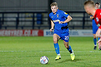 Max Sanders of AFC Wimbledon during the The Leasing.com Trophy match between AFC Wimbledon and Leyton Orient at the Cherry Red Records Stadium, Kingston, England on 8 October 2019. Photo by Carlton Myrie / PRiME Media Images.