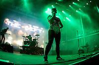 19/07/2014 - PORTUGAL, PORTO, GAIA - MEO MARÈS VIVAS 2014 - THE GIFT, Banda portuguesa durante o Festival Meo Marés Vivas 2014. (Foto: Pedro Lopes/Brazil Photo Press)