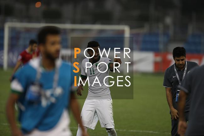 Saudi Arabia vs IR Iran during the 2016 AFC U-19 Championship Semi-Finals match at Khalifa Sports City Stadium on 27 October 2016, in Isa Town, Bahrain. Photo by Isa Ebrahim / Lagardere Sports