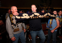 Philadelphia Union fans at the 2011 MLS Superdraft, in Baltimore, Maryland on January 13, 2010.