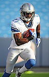 3 September 2009:  Detroit Lions' running back Aaron Brown warms up prior to a pre-season game against the Buffalo Bills at Ralph Wilson Stadium in Orchard Park, New York. The Lions defeated the Bills 17-6...Mandatory Photo Credit: Ed Wolfstein Photo