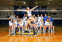 CCSU Volleyball Photo Day 8/10/2017
