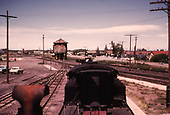A view from the caboose roof as a D&amp;RGW caboose hop approaches the water tank in Antonito<br /> D&amp;RGW  Antonito, CO
