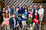 At the Lee Strand Kerry Garda Youth Achievement Awards 2016 in Ballyroe Heights on Friday were, from left. Ada Naughton, Jean Louis Valentin, Darragh O'Sullivan, Shaun Valentin, Duagh, Merit Award Winner, Mary Valentin, Eileen Valentin Back l-r Martina Cronin, Pat Cronin, Micheal Kirby, Liam Hassett, Teresa O'Connor, Veronica Kirby,  Ger O'Connor and Eileen O'Sullivan
