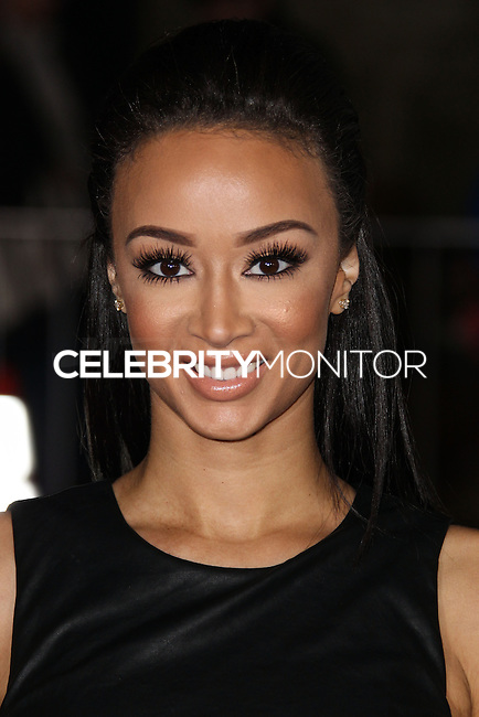 "WESTWOOD, CA, USA - FEBRUARY 24: Draya Michele at the World Premiere Of Universal Pictures And Studiocanal's ""Non-Stop"" held at Regency Village Theatre on February 24, 2014 in Westwood, Los Angeles, California, United States. (Photo by Xavier Collin/Celebrity Monitor)"