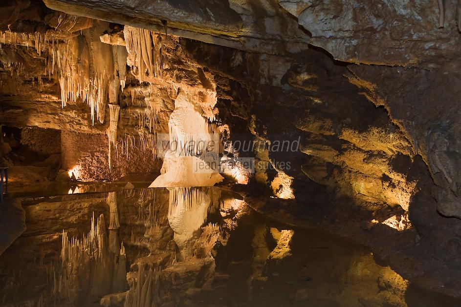 Europe/France/Midi-Pyrénées/46/Lot/Lacave: Grottes de Lacave - Salle de la Tarasque