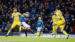 Martyn Waghorn beats Richard Foster but his effort is saved