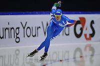 SCHAATSEN: HEERENVEEN: Thialf, World Cup, 02-12-11, 1500m B, Luca Stefani ITA, ©foto: Martin de Jong
