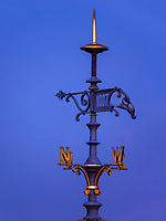 Turmspitze auf dem S&uuml;llberg Restaurant, Hamburg-Blankenese, Deutschland, Europa<br /> spire of S&uuml;llberg Restaurant  Blankenese, Hamburg, Germany, Europe