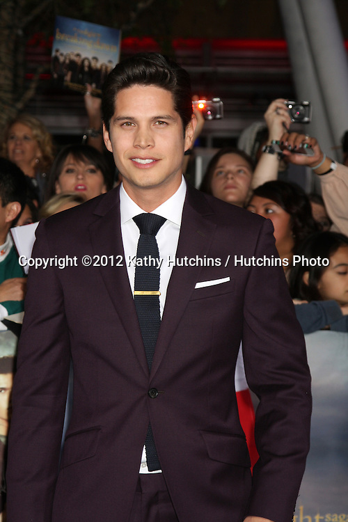 """LOS ANGELES - NOV 12:  J.D. Pardo arrive to the 'The Twilight Saga: Breaking Dawn - Part 2"""" Premiere at Nokia Theater on November 12, 2012 in Los Angeles, CA"""