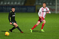 Tom Conlon of Stevenage during Stevenage vs Brighton & Hove Albion Under-21, Checkatrade Trophy Football at the Lamex Stadium on 7th November 2017