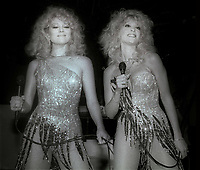 Audrey and Judy Landers 1984<br /> Photo By John Barrett/PHOTOlink