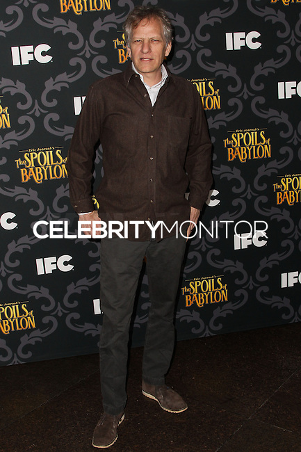 """LOS ANGELES, CA - JANUARY 07: Andrew Steele arriving at the Los Angeles Screening Of IFC's """"The Spoils Of Babylon"""" held at the Directors Guild Of America on January 7, 2014 in Los Angeles, California. (Photo by Xavier Collin/Celebrity Monitor)"""
