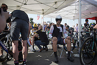 Fabian Cancellara (SUI/TREK Factory Racing) before the stage 1 prologue in Utrecht (13.8km)<br /> <br /> Tour de France 2015