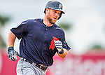 5 March 2016: Detroit Tigers catcher Bryan Holaday rounds the bases after hitting a 2-run homer in the second inning of a Spring Training pre-season game against the Washington Nationals at Space Coast Stadium in Viera, Florida. The Tigers fell to the Nationals 8-4 in Grapefruit League play. Mandatory Credit: Ed Wolfstein Photo *** RAW (NEF) Image File Available ***