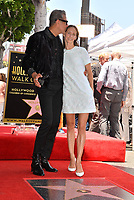 Jeff Goldblum &amp; Emilie Livingston at the Hollywood Walk of Fame Star Ceremony honoring actor Jeff Goldblum, Los Angeles, USA 14 June 2018<br /> Picture: Paul Smith/Featureflash/SilverHub 0208 004 5359 sales@silverhubmedia.com