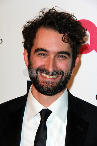 WEST HOLLYWOOD, CA - FEBRUARY 22: Jay Duplass at the 2015 Elton John AIDS Foundation Oscar Party in West Hollywood, California on February 22, 2015. Credit: David Edwards/DailyCeleb/MediaPunch