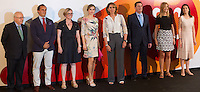 Spanish queen Letizia during delivery spanish fashion national awards 2016 in the Museum of Costume in Madrid. July 21, 2016. (ALTERPHOTOS/Rodrigo Jimenez) /NORTEPHOTO.COM