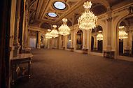Paris, France, Elysee Palace, Summer 1980. Great Hall.