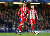 5th December 2017, Stamford Bridge, London, England; UEFA Champions League football, Chelsea versus Atletico Madrid; Antoine Griezmann of Atletico Madrid in action