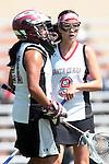 Los Angeles, CA 04/18/10 - Hannah Scott (SCU #9) and Renee Eligio (SCU #21)