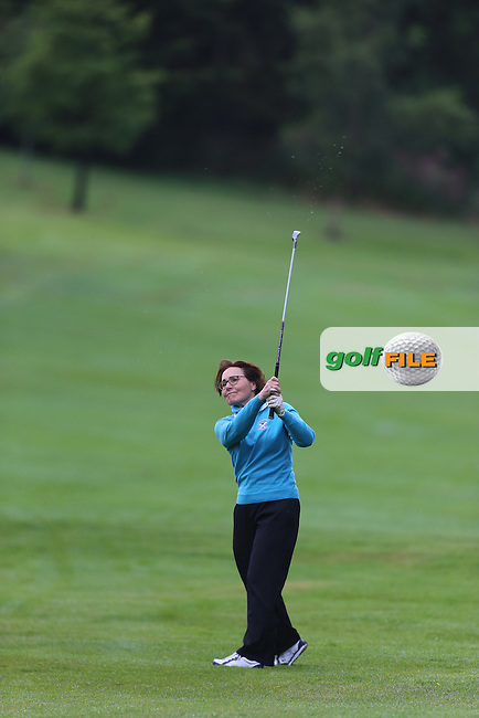 Heather Mitchell (Strabane) during the Ulster Mixed Foursomes Final, Shandon Park Golf Club, Belfast. 19/08/2016<br /> <br /> Picture Jenny Matthews / Golffile.ie<br /> <br /> All photo usage must carry mandatory copyright credit (&copy; Golffile | Jenny Matthews)