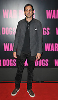 Steven Frayne aka Dynamo at the &quot;War Dogs&quot; gala film screening, Picturehouse Central, Corner of Shaftesbury Avenue &amp; Great Windmill Street, London, England, UK, on Thursday 11 August 2016.<br /> <br /> &copy;CAN/Capital Pictures / MediaPunch  ** USA and South America ONLY**