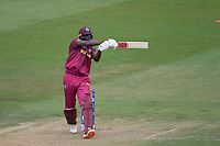 Jason Holder (West Indies) pulls a short delivery over the mid wicket boundary during West Indies vs New Zealand, ICC World Cup Warm-Up Match Cricket at the Bristol County Ground on 28th May 2019