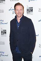 Damien Lewis<br /> arriving for the London Film Festival 2017 screening of &quot;Loving Vincent&quot; at the National Gallery, Trafalgar Square, London<br /> <br /> <br /> &copy;Ash Knotek  D3328  09/10/2017