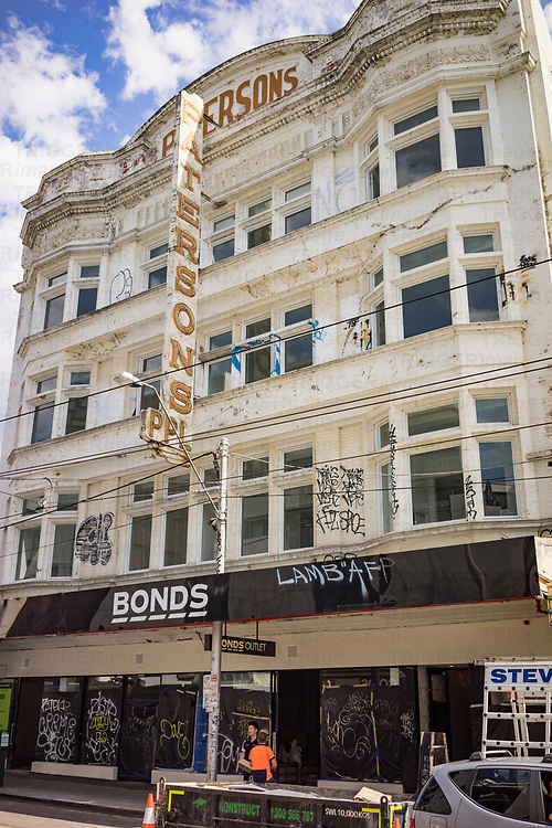 Old urban store in Melbourne