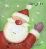 Addy, CHRISTMAS SANTA, SNOWMAN, paintings(GBAD1104,#X#)
