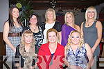 WINE: The Ladies of Bailys Staff who held their Christmas Party in The Station House Blennerville, Tralee on Saturday night. Front l-r: Helen Coffey, Cathy Sheehan and Sandra O'Sullivan. Back l-r: Ciara Hurley, Teresa Roche, Ethel Meehan, Carol O'Hanlon and Donna Coffey.. . ............................... ..........