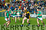 Colm Cooper Dr Crokes in action against Evan Talty Kilmurry Ibrickane in the Munster Senior Club Championship Semi Final at Lewis Road, Killarney on Sunday.