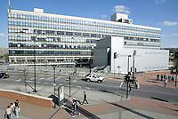 Sheffield Hallam University on Arundle Gate, Sheffield, South Yorkshire