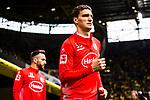 11.05.2019, Signal Iduna Park, Dortmund, GER, 1.FBL, Borussia Dortmund vs Fortuna Düsseldorf, DFL REGULATIONS PROHIBIT ANY USE OF PHOTOGRAPHS AS IMAGE SEQUENCES AND/OR QUASI-VIDEO<br /> <br /> im Bild | picture shows:<br /> Marcin Kaminski (Fortuna #35)  auf dem Weg zum aufwaermen, <br /> <br /> Foto © nordphoto / Rauch