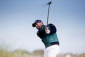 6th October 2017, Carnoustie Golf Links, Carnoustie, Scotland; Alfred Dunhill Links Championship, second round; Brandon Grace of South Africa plays from the rough on the sixth hole during the second round at the Alfred Dunhill Links Championship on the Championship Links, Carnoustie