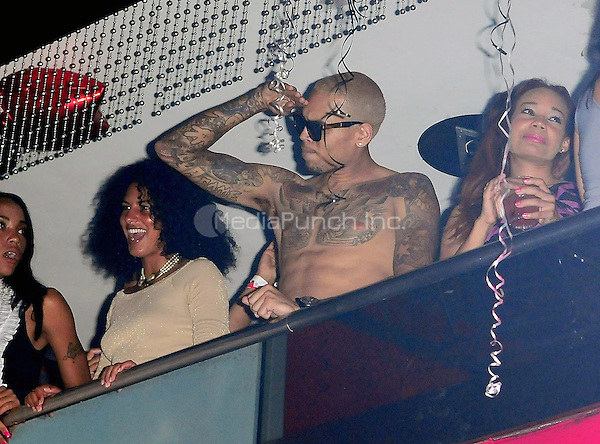 MIAMI BEACH, FL - MAY 06: Chris Brown attends his 22nd Birthday party at Club Play on May 6, 2011 in Miami Beach, Florida. (photo by: MPI10/MediaPunch Inc.)