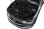 Car stock 2018 Mazda Mazda6 Grand Touring Reserve 4 Door Sedan engine high angle detail view