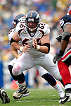 9 September 2007: Denver Broncos center Tom Nalen (66) in action against the Buffalo Bills at Ralph Wilson Stadium in Buffalo, NY. The Broncos defeated the Bills 15-14 in the opening day matchup...Mandatory Photo Credit: Ed Wolfstein Photo
