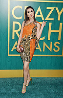 HOLLYWOOD, CA - AUGUST 07:  Raline Shah arrives at the Warner Bros. Pictures' 'Crazy Rich Asians' premiere at the TCL Chinese Theatre IMAX on August 7, 2018 in Hollywood, California.<br /> CAP/ROT/TM<br /> &copy;TM/ROT/Capital Pictures