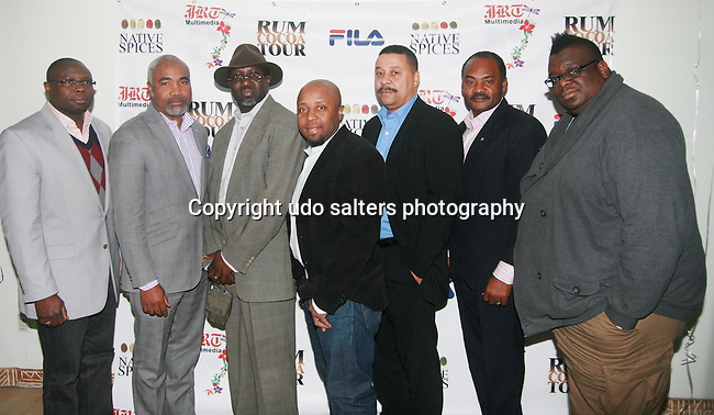 The Men of Global Network for Humanity Attend Jocelyn Taylor's Birthday Celebration and Official Launch of JRT Multimedia, LLC (A Luxury Branding Company)at Nikki Beach Midtown, New York, 3/26/2011