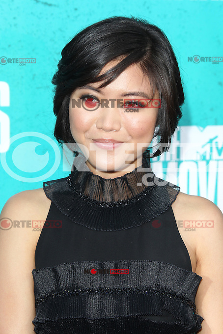 Jessica Lu at the 2012 MTV Movie Awards held at Gibson Amphitheatre on June 3, 2012 in Universal City, California. © mpi29/MediaPunch Inc.