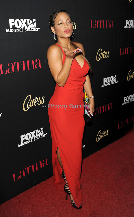 Christina Milian arriving at the Latina Magazine Host Hollywood Hot List Party held at  The Sunset Tower Hotel Los Angeles, CA. October 2, 2014.