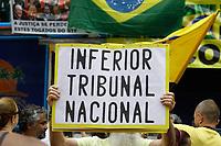 28.04.2019 - Protesto contra o STF na av Paulista em SP