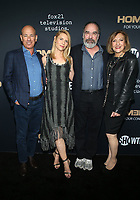 BEVERLY HILLS, CA - JUNE 5: Howard Gordon, Claire Danes, Mandy Patinkin, Lesli Linka Glatter,  pictured at the Homeland FYC event at the Writers Guild Theater in Beverly Hills, California on June 5, 2018. <br /> CAP/MPI/FS<br /> &copy;FS/MPI/Capital Pictures