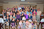 RECEPTION: The parents Aidan Daly and Eileen Molly Marian park Tralee held a reception their daughter Alicia Helen Daly after she was christened in the Immaculate Conception Church, Rathass Tralee on Sunday, in Kerins O'Rahillys GAA Club, Tralee.    .