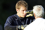 22 January 2006: Brad Guzan. The United States Men's National Team tied Canada 0-0 at Torero Stadium in San Diego, California in an International Friendly soccer match.