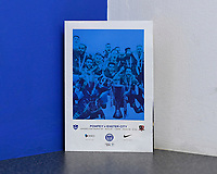 The cover of the match day programme during Portsmouth vs Exeter City, Leasing.com Trophy Football at Fratton Park on 18th February 2020