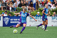 Allston, MA - Sunday July 31, 2016: Maddy Evans during a regular season National Women's Soccer League (NWSL) match between the Boston Breakers and the Orlando Pride at Jordan Field.